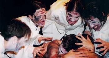 »Es gibt kein Firmament mehr. Texte und Szenen von Antonin Artaud.« wurde im Herbst 2001 von Thomas Lazarus in der WerkstattBühne inszeniert.