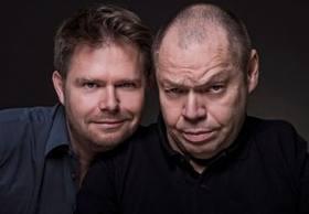 """Zukünftige """"Perlen"""": 2015 ist der gefeierte Bassbariton Thomas Quasthoff mit Kabarettist und Autor Michael Frowin im Bockshorn."""