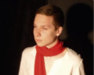 """Nils Klinke als """"kleiner Prinz"""", der sagt: """"Man sieht nur mit dem Herzen gut, das Wesentliche ist für die Augen unsichtbar."""""""