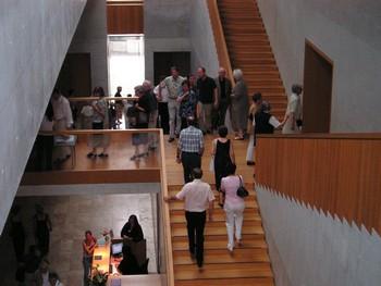 Blick ins Foyer des Museums Georg Schäfer, dasbislang rund 500.000 Menschen besucht haben.