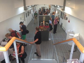 Vom Frühjahr bis in den Herbst hinein zeigt der Kunstverein Würzburg auf seiner Arte Noah moderne, zeitgenössische Kunst.