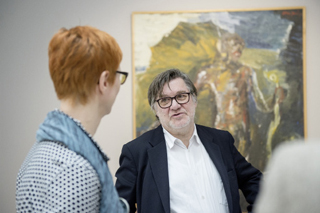 """Einen zentralen Überblick über das Schaffen von Siegfried Anzinger gibt die Schau """"Blick zurück und nach vorn"""" im Museum Würth in Künzelsau mit etwa 140 Werken."""