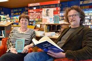Elisabeth Stein-Salomon und Daniel Osthoff laden gerade angesichts der Corona-Pandemie dazu ein, sich mit dem Würzburger Autor Max Mohr zu befassen.
