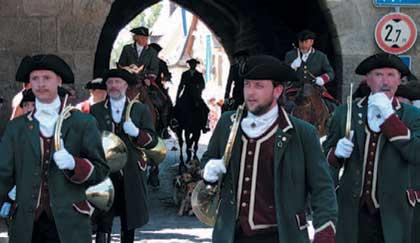 Das französische Jagdhorn gibt nur Naturtöne von sich