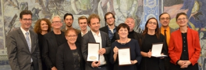 Die diesjährigen Kulturpreisträger und ihre Laudatoren.