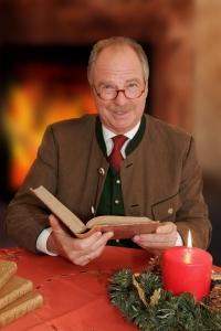 Friedrich von Thun hält am 23. Dezember eine seiner nachdenklichen Lesungen.