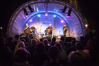 """Reinhold Beckmann & Band stellte sein neues Programm """"Freispiel"""" vor."""
