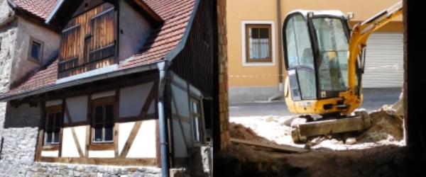 Der Umbau des neuen Theaters ist in vollem Gange. Am 1. Dezember soll sich in Winterhausen zum ersten Mal der Vorhang heben.